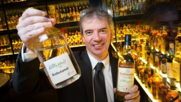 Une startup adopte le whisky comme carburant #Biobutanol.
